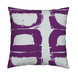 Mallow Amethyst Pillow