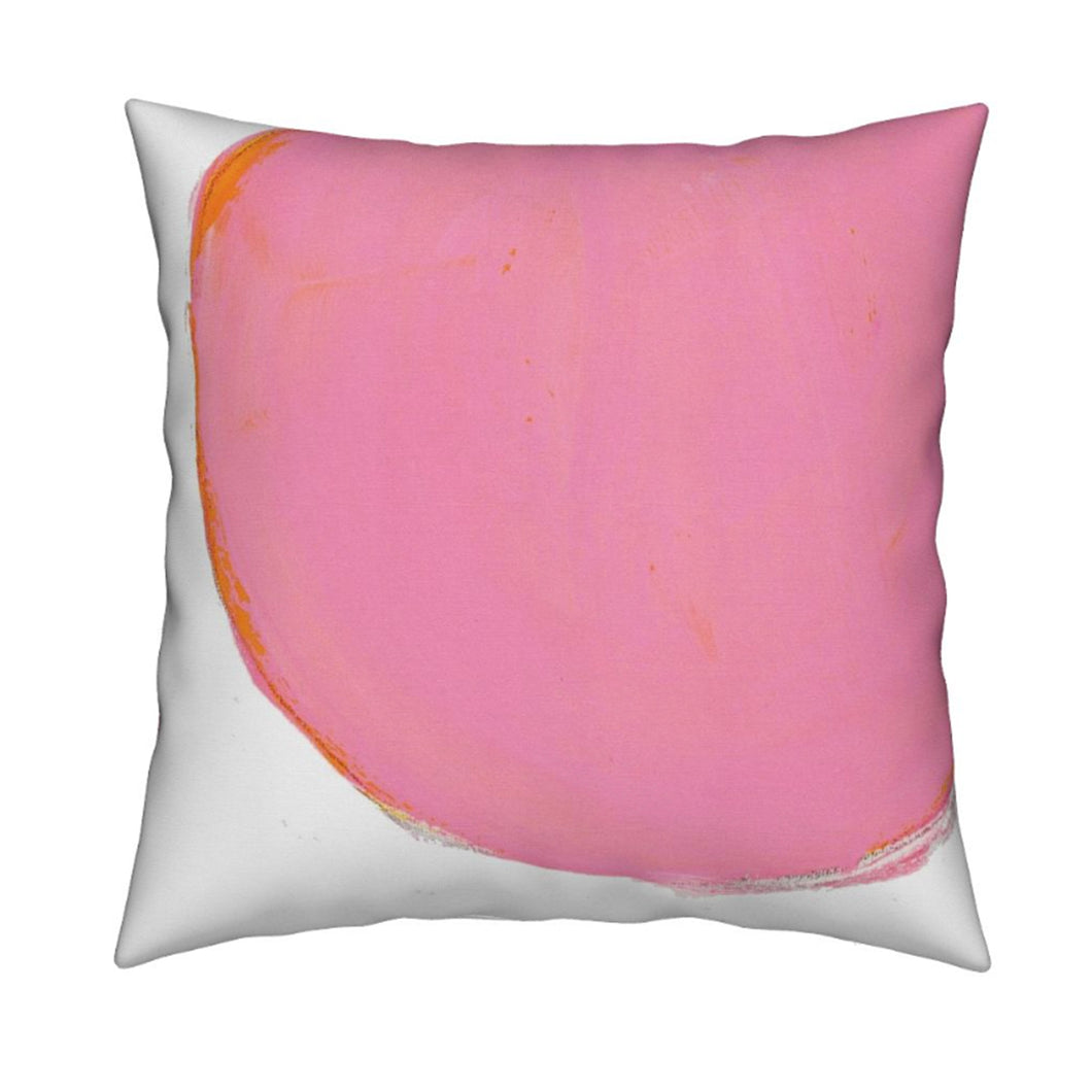 Spot Pink Sunrise Pillow