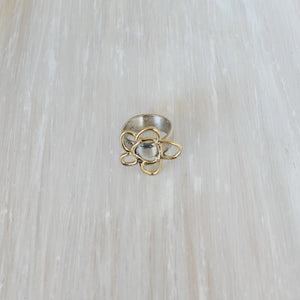 Daisy Ring - Gold/Silver