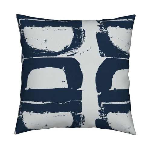 Mallow Indigo Pillow