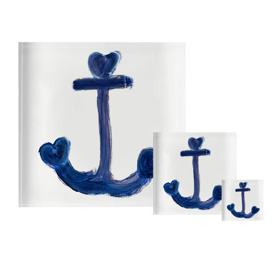 Anchor Indigo Block of Love