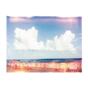 Beach Color Photograph