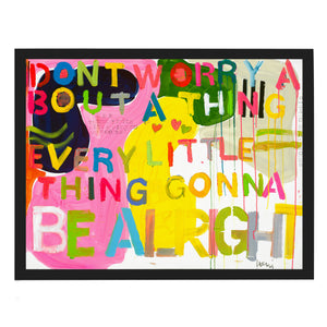 Be Alright Art Print