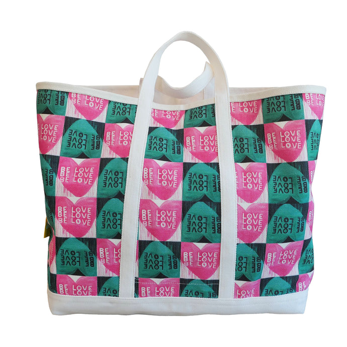 KR Canvas Tote - Be Love
