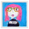 BKLYN Girl Art Print