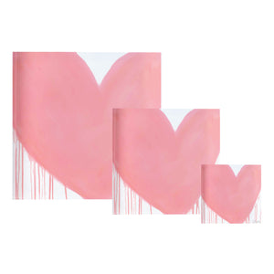 Bubblegum Drippy Heart Block of Love