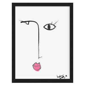 Bubble Girl No. 3 Art Print