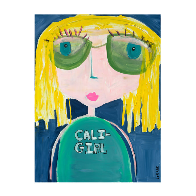 Cali Girl Art Print