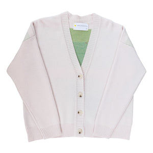 Cali Girl Wool Cardigan - Blush