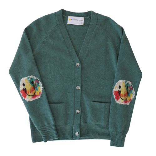 Willy Patchwork Cashmere Cardigan - Hubert