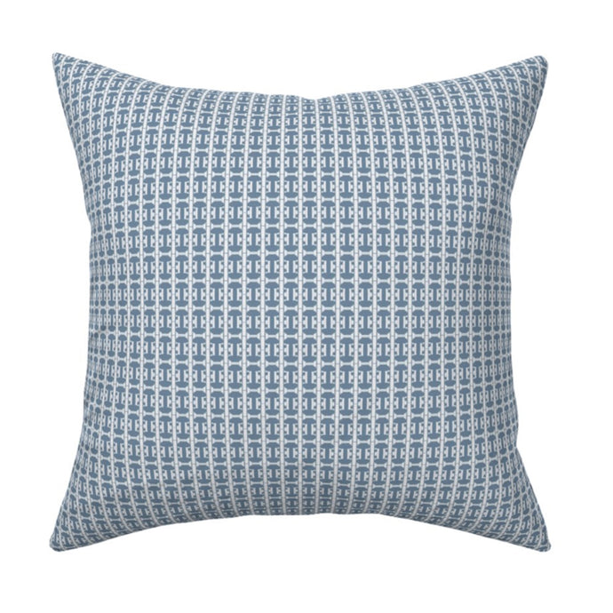 Cheval Dutch Blue Pillow - 1 in stock