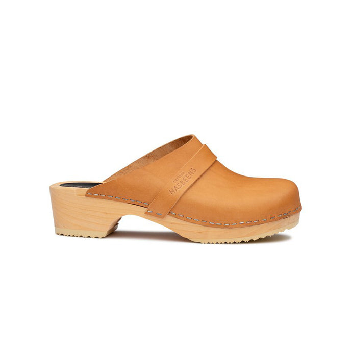 Swedish Hasbeens Clogs - Natural