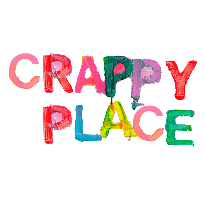 Crappy Place Jumbo Paperless Wallpaper (single)