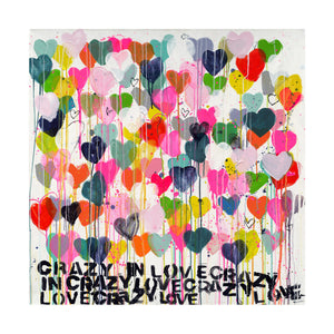 Crazy In Love Art Print