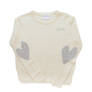 Patchwork Love Cashmere - Ivory + Dove