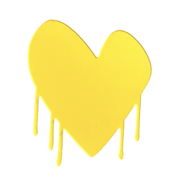 Drippy Heart Cut-Out Artwork