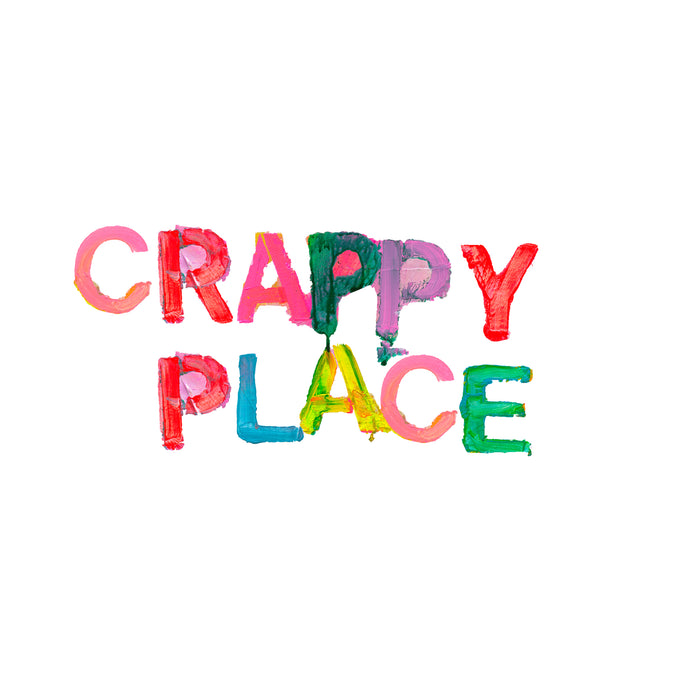 Crappy Place Small Paperless Wallpaper (single)