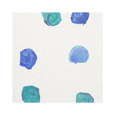 Dominoes Cornflower Fabric