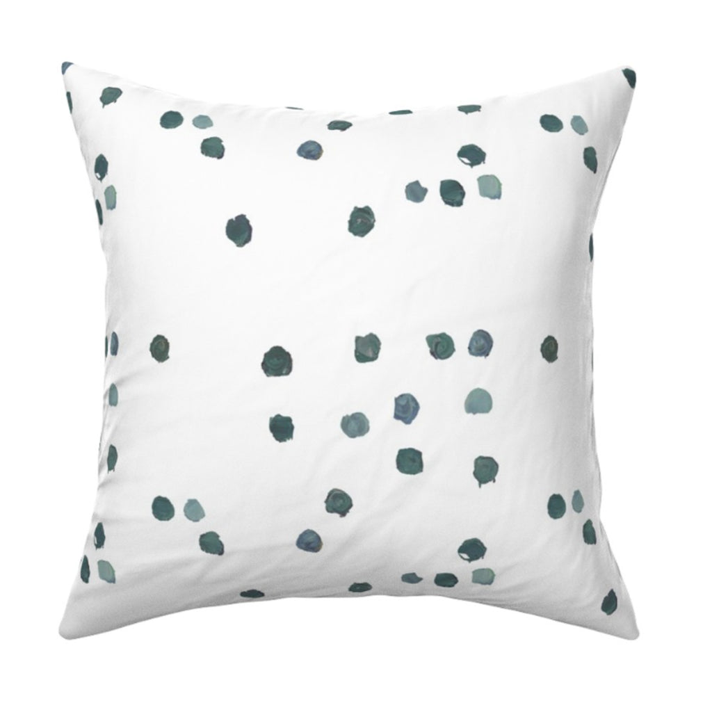 Dominoes Forest Pillow