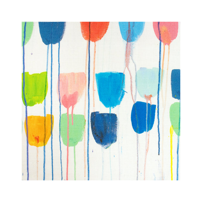 Drippy Tulips Fabric