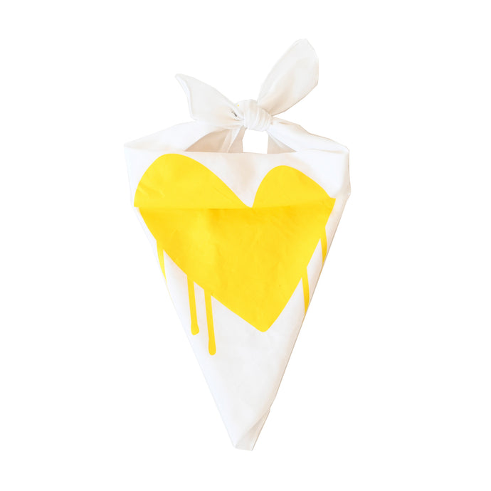 Puppy Love Dog Bandana - Drippy Heart