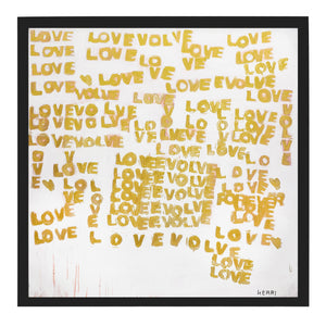 The Evolution Of Love Art Print