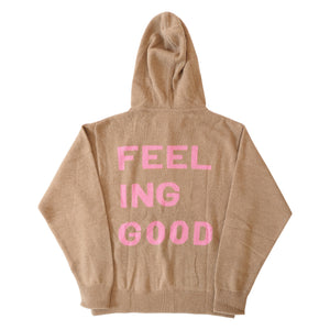 Feeling Good Cashmere Hoodie