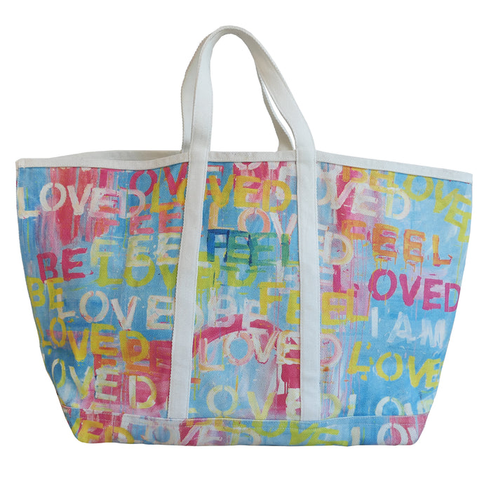 KR Canvas Tote - Feel Loved
