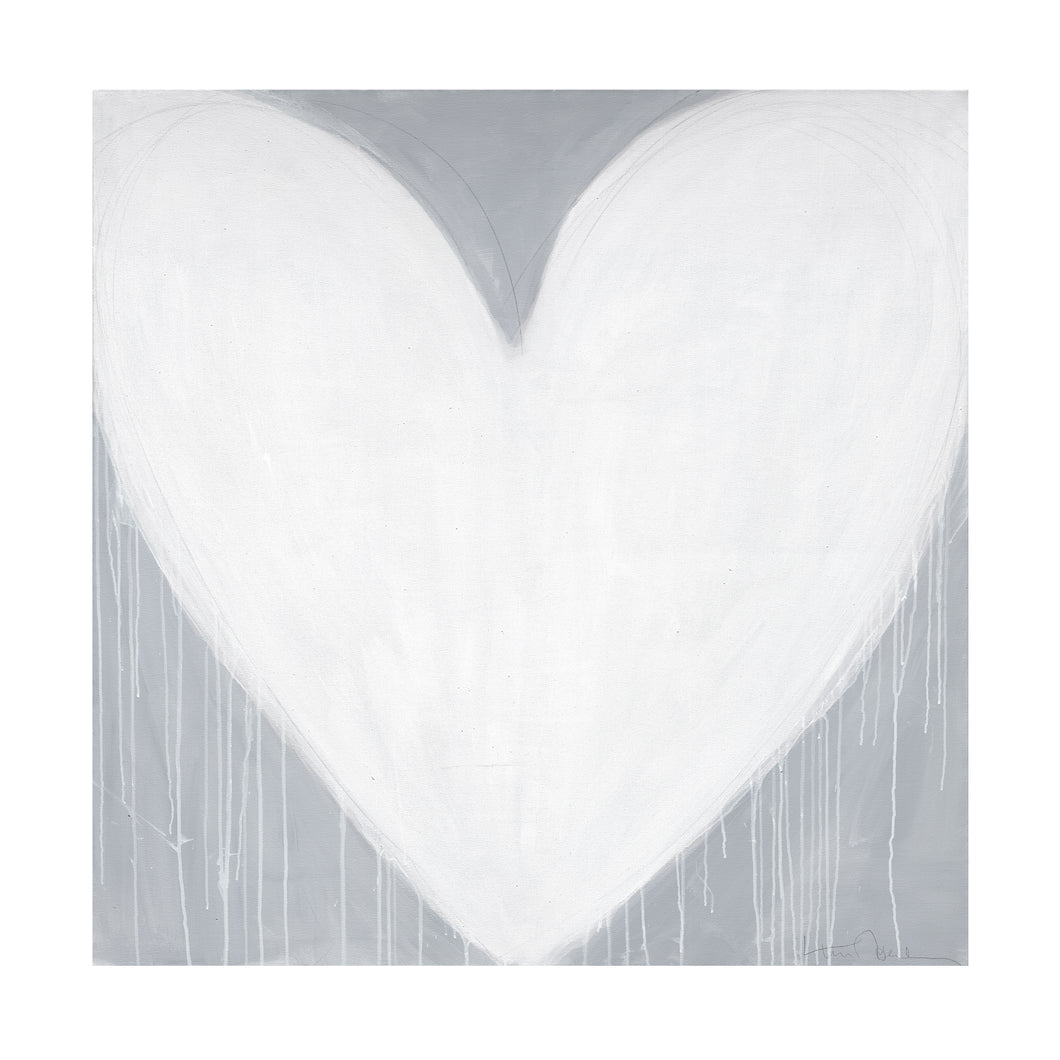 Forever Heart Drippy Heart Art Print