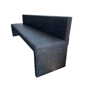 Frederico Banquette Jayney Reverse Carbon Linen
