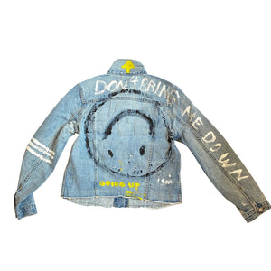 Going Up Handpainted Denim Jacket