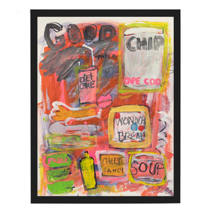 Good Chip Art Print