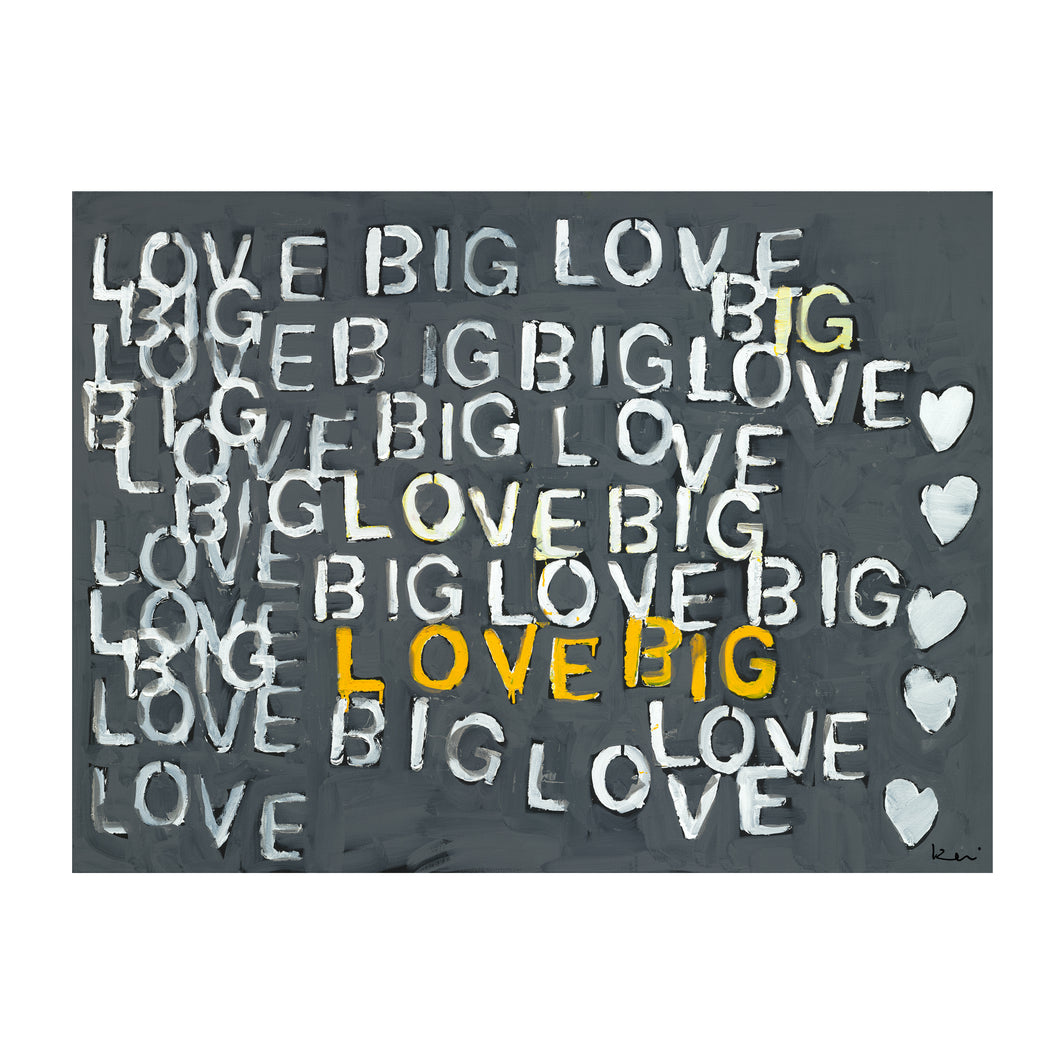 Got Big Love? Art Print