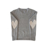 Love Has No Color Flag Cashmere Sweater - Grey
