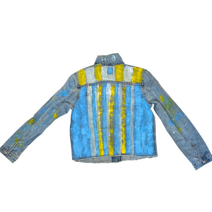 Taffy Handpainted Denim Jacket