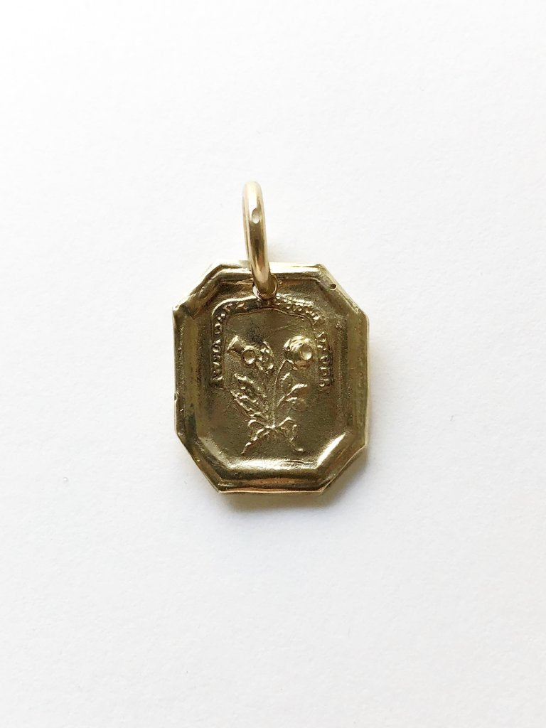 Rose & Thistle Pendant