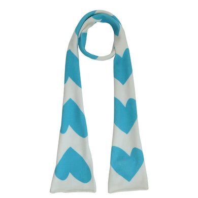 Skinny Scarf - Imperfect Heart Turquoise