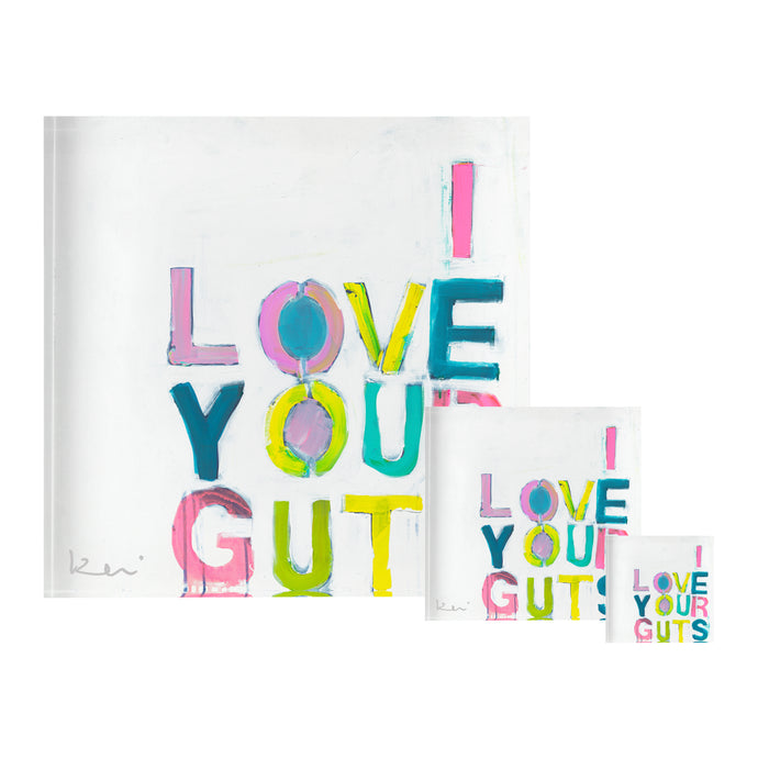 I Love Your Guts Block of Love