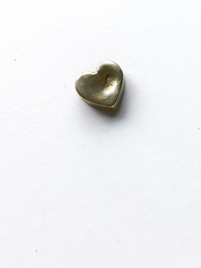 Dented Heart Pendant