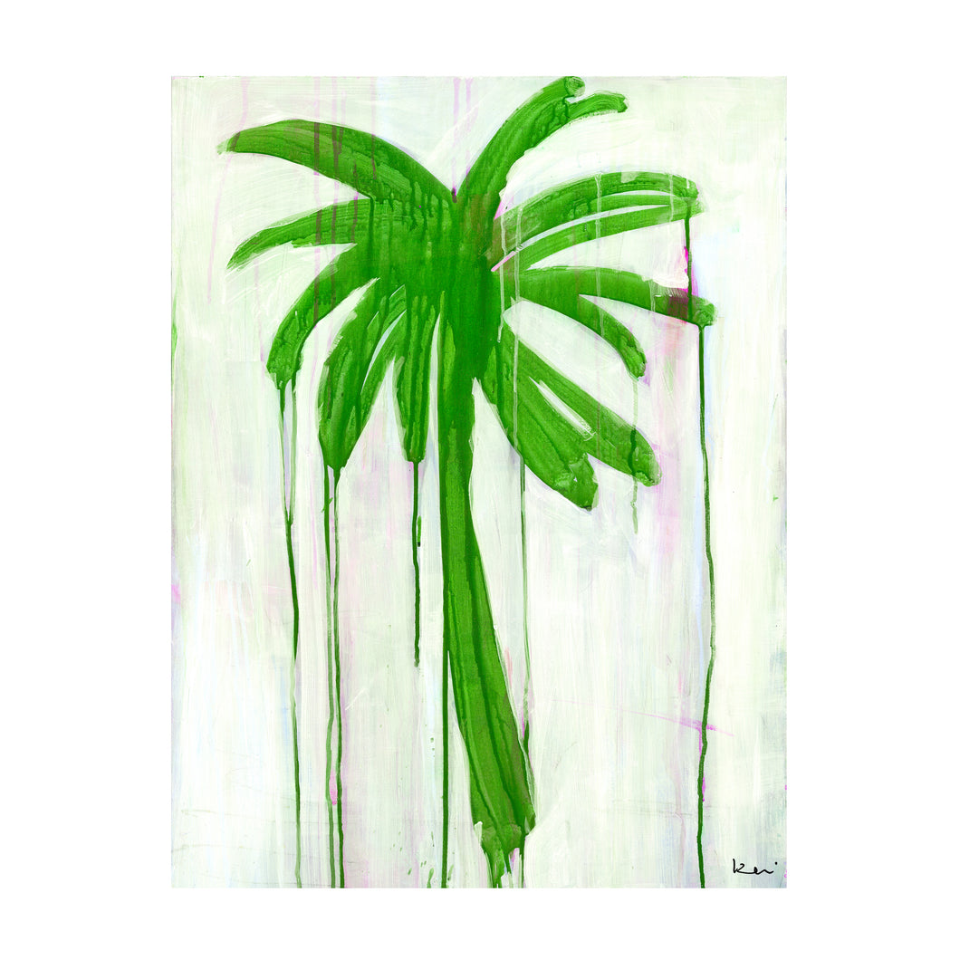 Jungle Palms Art Print
