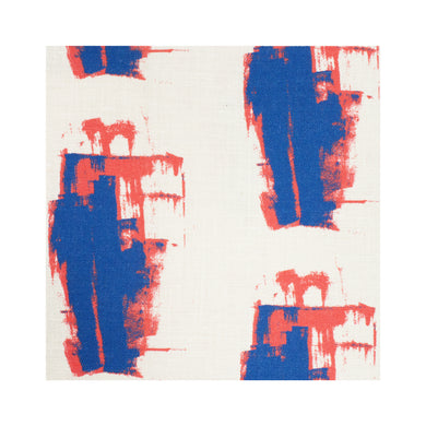 Keith Indigo Geranium Fabric