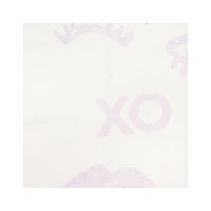 Kissy Winky Lilac Fabric