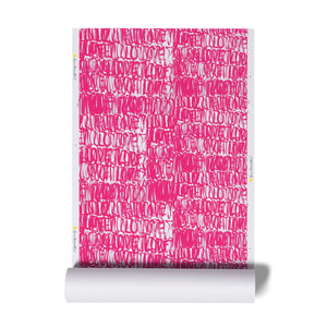 Love Actually Pop Pink Wallpaper