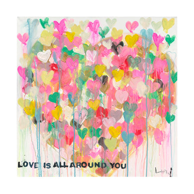 Love All Around Art Print