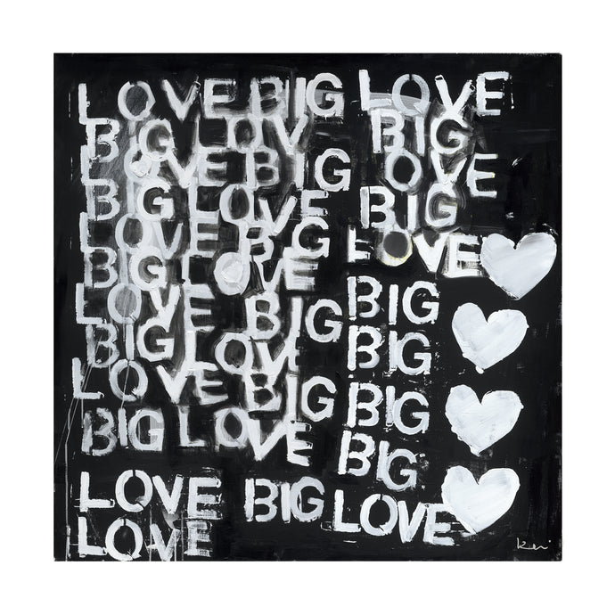 Love Big Love Art Print