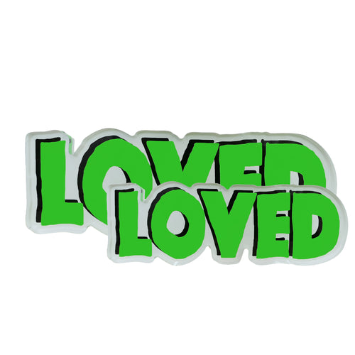 Loved Rock of Love Neon Green