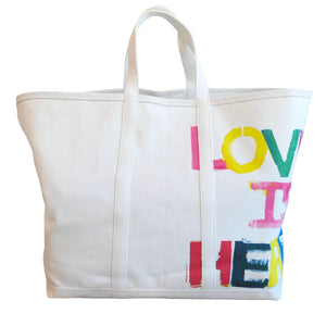 KR  Canvas Tote - Love Is Here