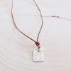 Love Struck Love Note Necklace - Sterling Silver