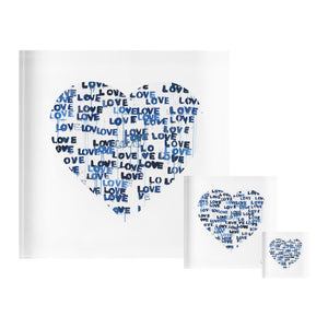 Love Letters Blues Block of Love