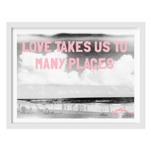 Love Takes Us To Many Places Mixed Media Photograph